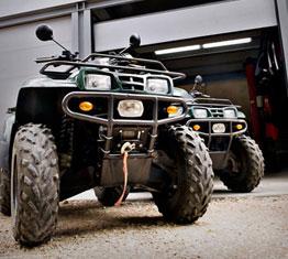 quads para rutas de la Aventura de cabrejas